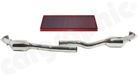Sport Catalytic Converter Set <BR> Crossover Version-With 100cell Catalytic Converters