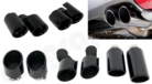 Black Tailpipe Coatings-For OE/Factory and CARGRAPHIC tailpipes