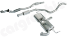 Sport Exhaust System for Corsa OPC/VXR-Turbo-back system