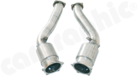 Primary Sport Catalytic Converter Set-OBD2 Compliant with 200cell Catalytic Converters