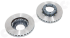 Sport Brake Disc Kit 993 Turbo/C4S -Two piece slotted 322mm x 32mm front axle kit