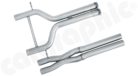 Center Pipes for 970 Panamera-Different Sound Versions available