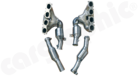 Full Exhaust System Mercedes Benz SLS AMG-Suitable for Coupé (C197) & Cabriolet (R197)