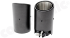 Carbon Fibre Tailpipe Sets-available in 89mm and 100mm