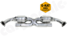 "Sport Catalytic Converter Set <BR> ""X"" Pipe Version-OBD2 compliant with 200Cell Catalytic Converters"