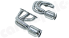 New Generation Long Tube Manifoldsets-with 200 cell Tri-metal big volume highflow <br> HD catalytic converter set, fully OBD2 compliant
