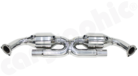 Catalytic Converter Replacement Pipe Set <BR> X - Pipe Version-Without Catalytic Converters