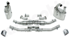 Manifold-Back Exhaust System N-GT CATLESS-Without integrated Exhaust Flaps