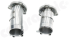 Catalytic Converter Connection Pipe Set-To convert Bischoff to Gillet Application