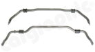 Adjustable Sway Bar Kit / Anti Roll Bar Kit-Fitting Position Front Axle: Ø28mm / not adjustable<BR> Fitting Position Rear Axle: Ø26mm / 2-way adjustable