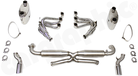 Racing Exhaust System-Without integrated Catalytic Converters