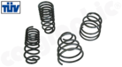 Performance Lowering Springs-Fitting Position Front Axle: Lowering ca. 30mm<BR> Fitting Position Rear Axle:  Lowering ca. 30mm