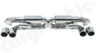 """Centre Silencer Replacement Pipe """"X""""-- with integrated Exhaust Flaps<BR> - SUPER SOUND / RACE SOUND VERSION"""