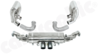 Motorsport Exhaust System Cat- / Manifold Back-- for all Porsche 997.1 / 997.2 / GT3 / GT3RS / Cup<BR> - To be used with OEM / factory Manifold Set<BR> - Available either with- / or without Exhaust Flaps